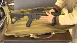 getlinkyoutube.com-Archangel Stock for Ruger 10/22 Carbine Rifle