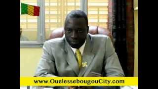 Adresse en langue Bambara du Maire Yeah SAMAKE a la population de Ouéléssébougou