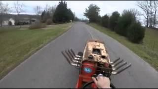 getlinkyoutube.com-Big block chevy lawnmower road test