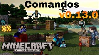 getlinkyoutube.com-Mod de Comandos - Minecraft PE v0.13.0