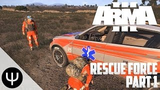 getlinkyoutube.com-ARMA 3: Altis Life — Rescue Force — Part 1 — Medical Drugs!