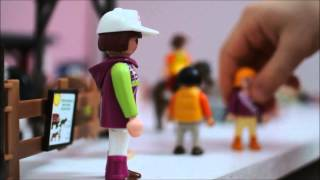 getlinkyoutube.com-Le centre equestre playmobil