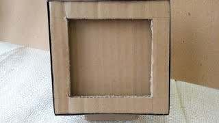 getlinkyoutube.com-How To Make a Cardboard Photo Frame - DIY Home Tutorial - Guidecentral