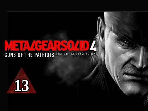 Metal Gear Solid 4 Walkthrough - Part 13 More Frogs Let's Play MGS4 Gameplay Commentary