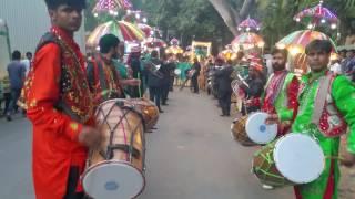 Wedding barat in india nitinbedi dhol band 9892833280