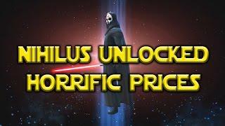getlinkyoutube.com-Star Wars: Galaxy Of Heroes - Darth Nihilus Unlocked Pack Prices lol