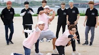 getlinkyoutube.com-[ RM Funny ] BTS Bangtan Boys Vs Running Man - 7 vs 300 Box mission