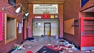 RECENTLY ABANDONED ELEMENTARY SCHOOL FOUND UNTOUCHED