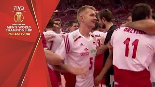 getlinkyoutube.com-Poland wins the FIVB Men's World Championship