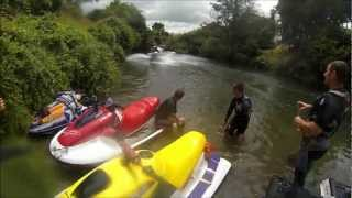 getlinkyoutube.com-Fun Jetsking River Ride To The Pub