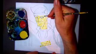 getlinkyoutube.com-A1 - Halftone Painting Demo