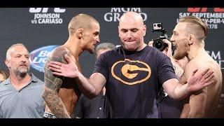 getlinkyoutube.com-UFC 178 Weigh-Ins: Conor McGregor and Dustin Poirier Explode