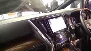 getlinkyoutube.com-シートの違い等々内装(インテリア)を撮影してみました!アルファード ヴェルファイア 新車 新型 7人乗り 8人乗り 内装 動画