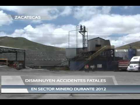 Disminuyen accidentes fatales en sector minero durante 2012