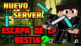 getlinkyoutube.com-NUEVO SERVER DE ¿ESCAPA DE LA BESTIA? MINECRAFT PE 0.16.0 | 0.17.0 | 0.18.0 |