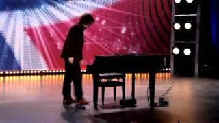World most amazing Piano player ? - Bogdan Alin Ota - Harald's Dream - Norske Talenter 2011