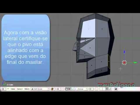 Video Aula: Blender - Modelando Personagem para Jogos - Parte 1