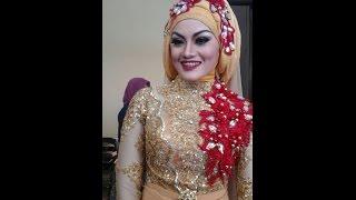 getlinkyoutube.com-Tutorial Hijab for wedding by Ine Najla Wedding