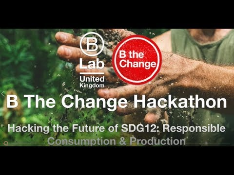 B Corps Work Together to Hack the SDG 12