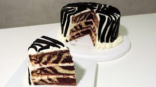 getlinkyoutube.com-Recette du Zebra Cake - William's Kitchen