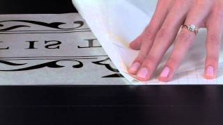 How To Apply Vinyl Wall Quotes Troubleshooting Removing The - Vinyl wall decal application youtube