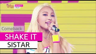 getlinkyoutube.com-[Comeback Stage] SISTAR - SHAKE IT, 씨스타 - 쉐이크 잇, Show Music core 20150627