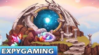 getlinkyoutube.com-ANCIENT PORTAL Dragon City Review Summon GuardAngel Protector of Heavens Dragon