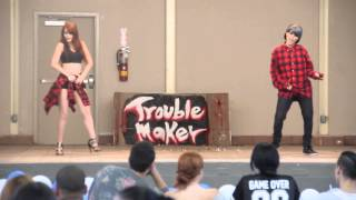 getlinkyoutube.com-[COVER] Hyuna+Troublemaker -  Bubble Pop + Attention + Now [HD]