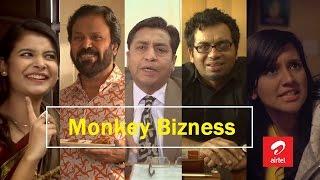 "getlinkyoutube.com-Airtel Valentines Day Natok ""Monkey Bizness"" (Comedy) 2015"