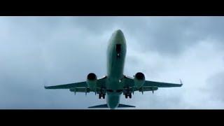 St. Maarten takeoffs, landings & Smokin' chick in bikini Revisited 2016