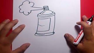 getlinkyoutube.com-Como dibujar un spray paso a paso | How to draw a spray