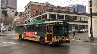 getlinkyoutube.com-Trolleybuses in Seattle (King County Metro)