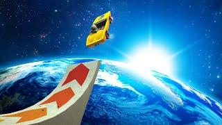 getlinkyoutube.com-HIGHEST SPACE JUMP EVER! (Turbo Dismount #5)