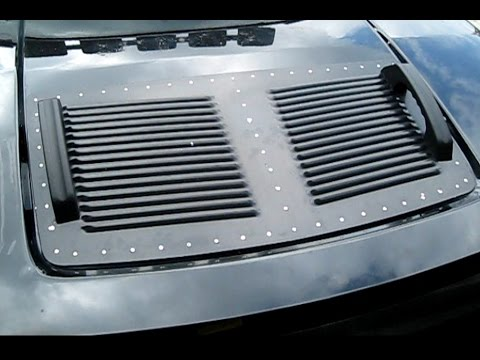 How to Replace Install a Real Hummer H3 RunCool Louver to improve look and performance
