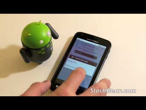 Motorola ATRIX 4G / Accessories Unboxing and hands-on