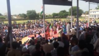 getlinkyoutube.com-Rajasthani dance on stage surya mandal Nawalgarh