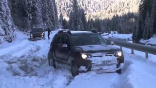 getlinkyoutube.com-Dacia Duster în Zăpadă