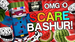 getlinkyoutube.com-SCARING BASHURVERSE THE WATERMELON - Minecraft Trolling Youtubers with Minecraft Mods (Scare Prank)