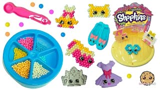 getlinkyoutube.com-Make Your Own Ballet Collection Shopkins - Beados  Water Beads Craft Playset - Toy Video