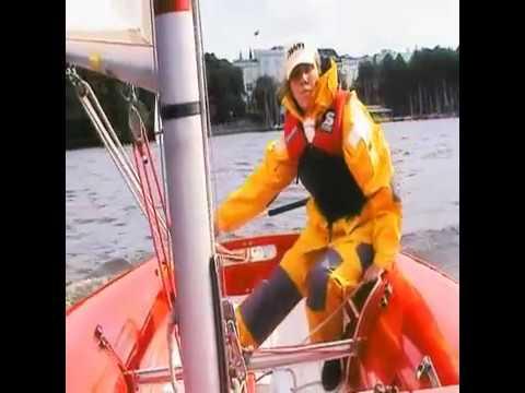 segeln lernen. Lehrvideo segeln,Wende, Halse, Kreuzen, Aufschießer, Boje über Bord