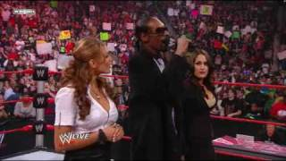getlinkyoutube.com-WWE Raw Highlights- Snoop Dogg Guest Hosts