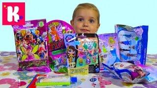 Принцессы Диснея ЛПС Филли сюрпризы с игрушками распаковка blind bag surprise toys
