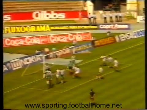 34J :: Sporting - 2 x V. Setubal - 0 de 1989/1990