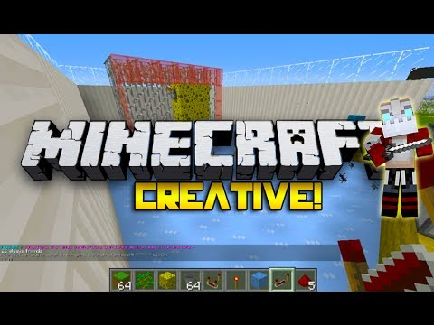 SPONGEBOB THE GOALIE! Minecraft Creative w/Nooch!