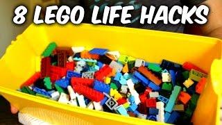 getlinkyoutube.com-8 Lego Life Hacks