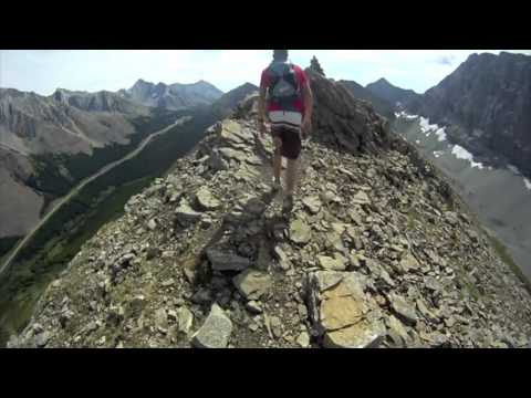 GoPro Hiking - Pocaterra Ridge, Alberta