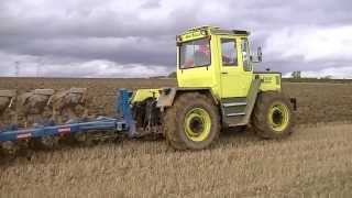 getlinkyoutube.com-MB  Trac 1000 Ploughing