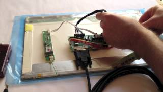getlinkyoutube.com-How to Connect Raspberry Pi to a Laptop LCD Panel via LVDS/LCD Controller Board