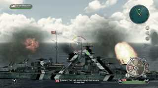 "getlinkyoutube.com-Battlestations Pacific - Atlantic Warfare ""Battle of the Denmark Strait"""