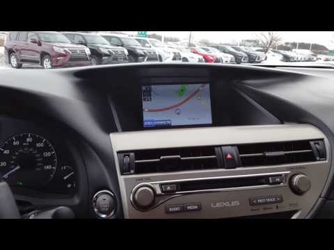 Lexus 2013-2015 RX350 Navigation split screen